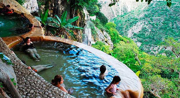 Take A Visit To Mexico S Famed Mountain Of Hot Springs