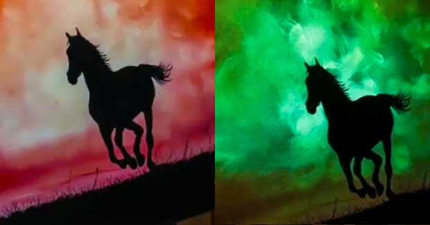 Artist S Ingenious Designs Allows Him To Paint Light With Glow In The Dark Paints Your Daily