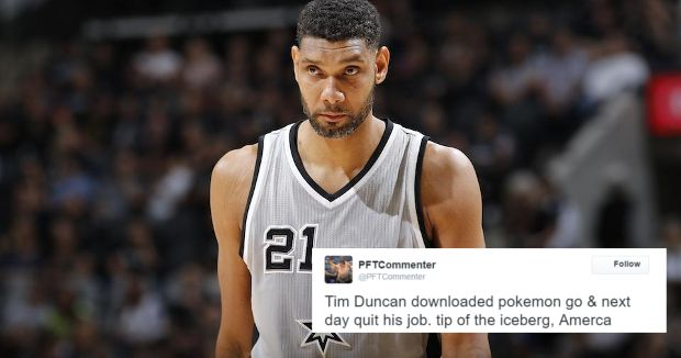 d3fb88ca726 Twitter Reacts Hilariously to Tim Duncan s Retirement - Your Daily Dish