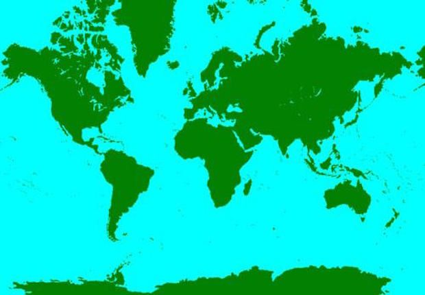 See This Map? It\'s Strange Looking, But Also the Most ...