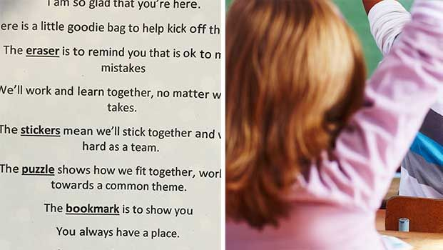Bowen State School Teacher Gives Inspiring Poem to Her Students