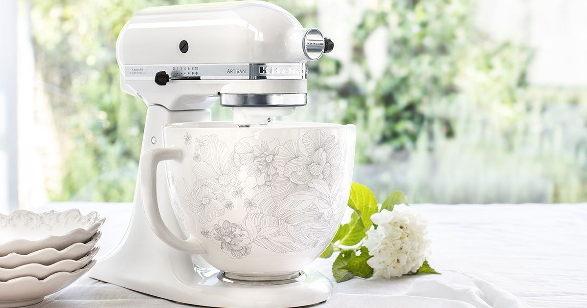 Customize Your KitchenAid Stand Mixer With Gorgeous New
